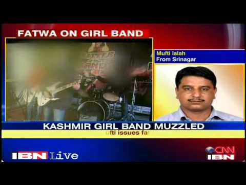Fatwa Issued Against Kashmir's Girl Band Jammu And Kashmir Videos video