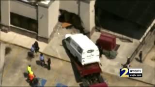 RAW: Car slams into Moe