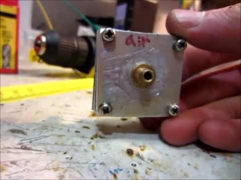 How To Build a Simple and Efficient DIY Diaphragm Water Pump For Stirling Engine Cooling
