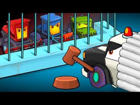 Машина ест машину 3 серия Car Eats Car 3! Детский летсплей #игровой мультик про машинки новые серии