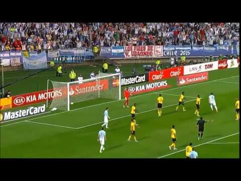 Copa America Chile 2015 - Argentina 1 0 Jamaica