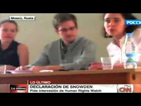 Snowden pidió a activistas interceder por su asilo
