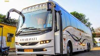 2016: New Volvo B9R Multi-Axle Bus | APSRTC Amaravati | #RCBuses | India