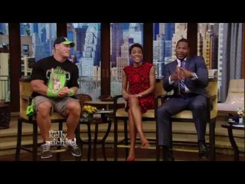 John Cena talks about Nikki Bella on LIVE with Kelly and Michael