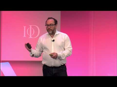 Jimmy Wales, Wikipedia, speaking at the IoD Annual Convention 2014