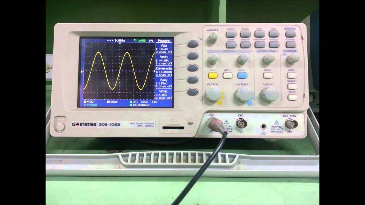Pr ctica osciloscopio y generador de corriente youtube - Generador de corriente ...