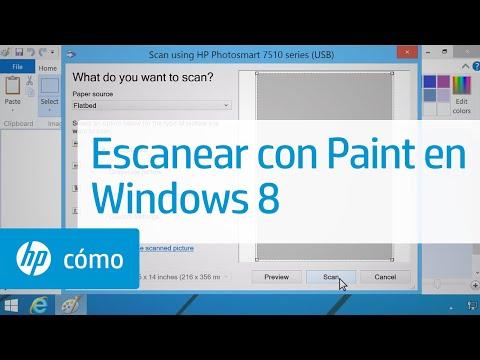 Escanear con Paint en Windows 8 | HP Computers | HP
