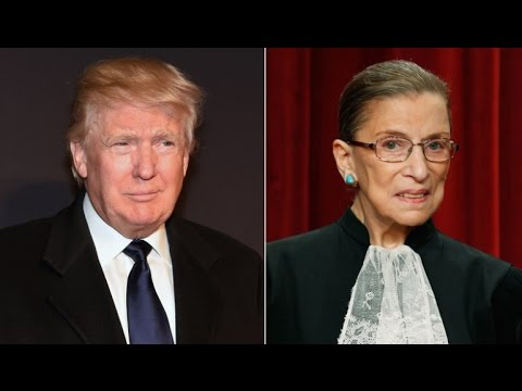 Republicans Respond To Trump Attacks From Supreme Court Justice