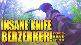 INSANE 180 FT KILL AND KNIFE BERZERKER MODE!!
