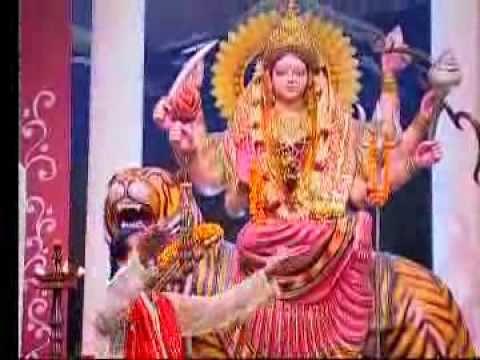 Mayi Ke Mathe Shobhe Laal By Bharat Sharma Vyas Bhojpuri Bhakti Song From Mai Aa Jai Hali.flv video