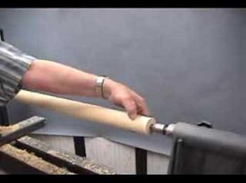 cane shaft turning demo