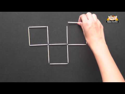 Make 7 Squares from 4 Squares in Sindhi