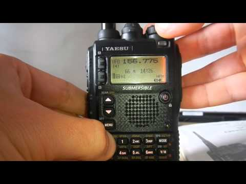Yaesu's bug land - VX-8
