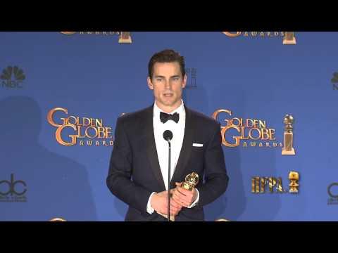 Matt Bomer Golden Globes 2015 Press Room Interview