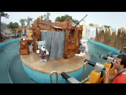 FULL World of Chima Quest for Chi ride multi-camera POV and queue at LEGOLAND Florida