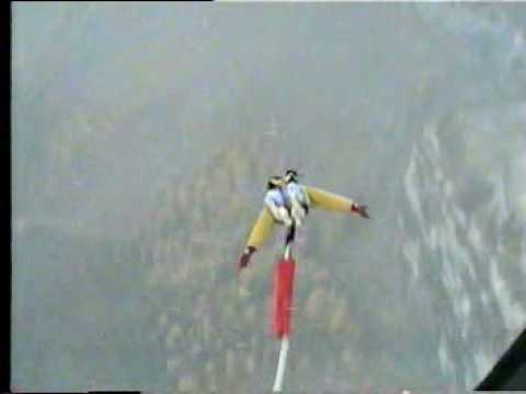 Leukerbad bungee jump