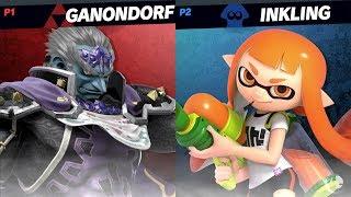 Super Smash Bros Ultimate Duncan (Ganon) vs Shofu (Inkling) - DIRECT CAPTURE
