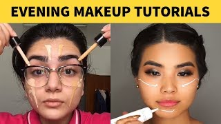 HOW TO CREATE A GORGEOUS EVENING MAKEUP LOOK | BEST MAKEUP COMPILATION