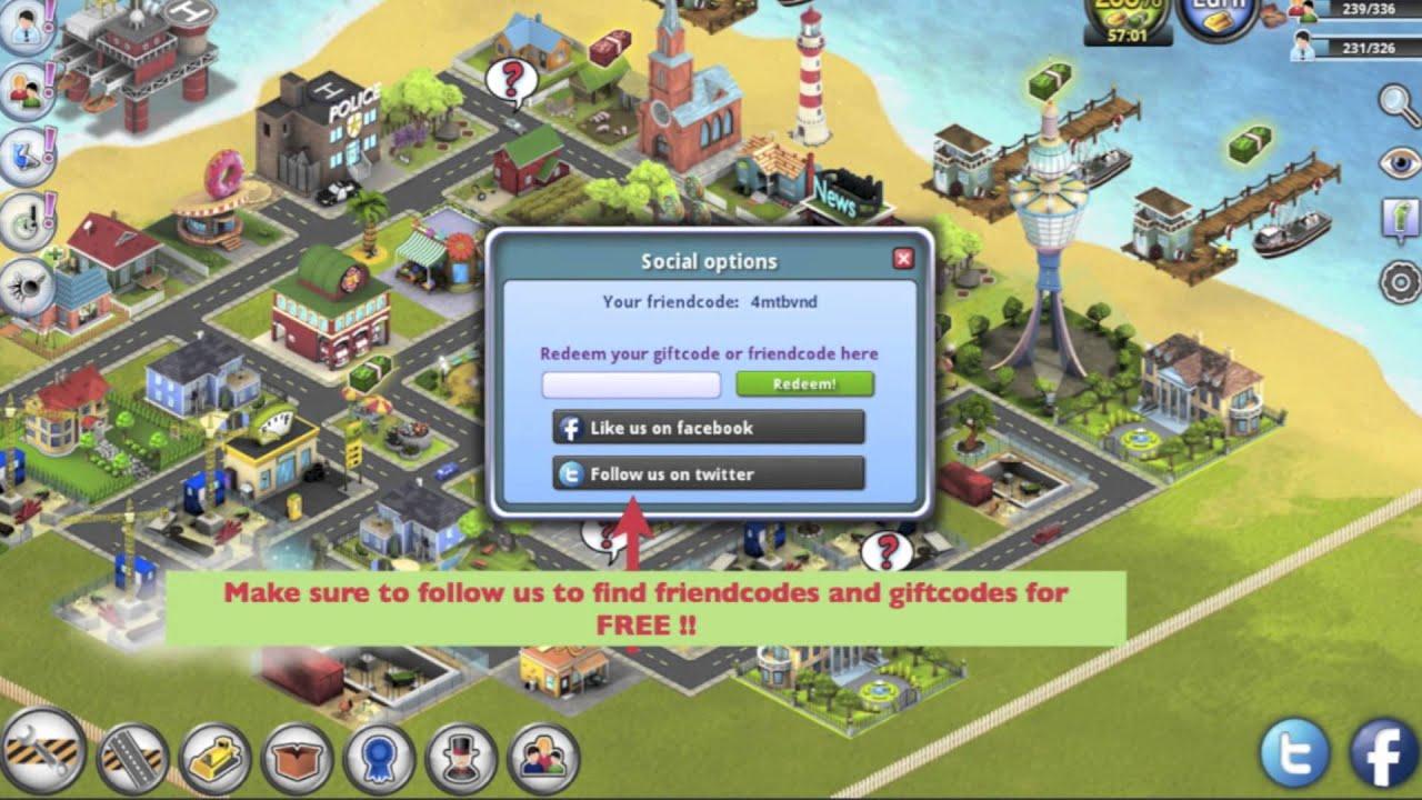 City Island  Friend Codes