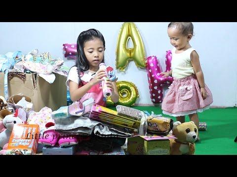 Buka Kado Ulang Tahun Little Princess Shinta Ke 8, Open Birthday Present