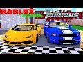 ROBLOX FAST & FURIOUS   DONUT DOES DRAG RACING ON THE STREETS ILLEGALLY!!