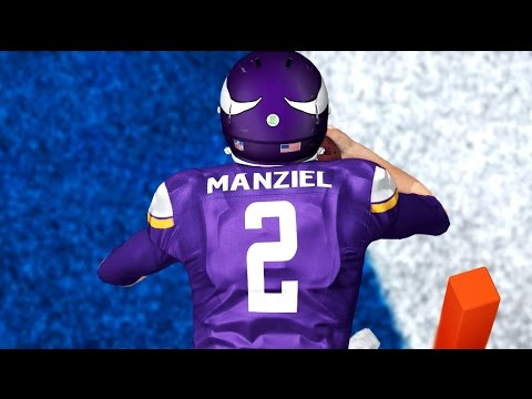 Madden 15 Ultimate Team Next Gen Gameplay - QJB vs AiiRxJONES - Johnny Manziel Clutch