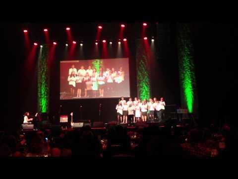 The Gateway School Choir singing at the Hammerstein Ballroom - 05/30/2013