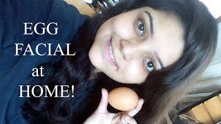 Egg Facial at Home | Glowing Skin in 5 minutes! Bengali Beauty Guru