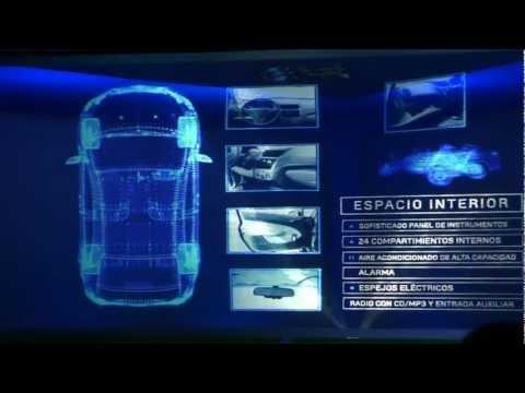 Lanzamiento y Presentación Nuevo Chevrolet SAIL en Colombia.