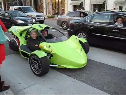 Exotic Cars in Beverly Hills - December 2007 Video