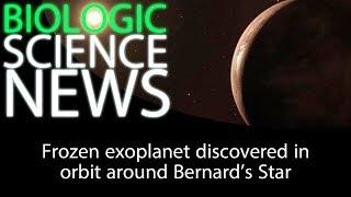 Science News - Frozen exoplanet discovered in orbit around Bernard's Star