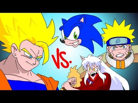 Goku Vs Everybody Ucf7.5 Sonic! Naruto! Inuyasha! video