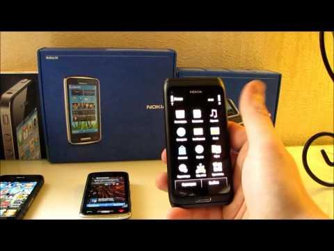 Nokia E7 vs Nokia C6-01 vs iphone 4