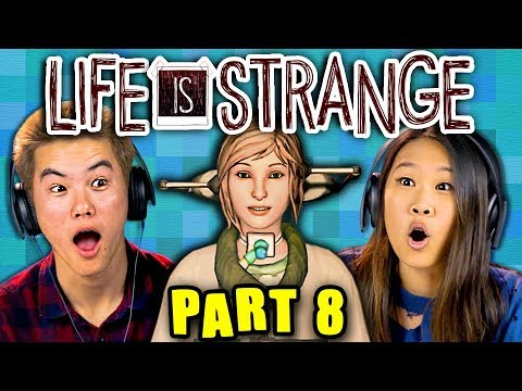 WHEN WE WERE YOUNG.... | LIFE IS STRANGE - Part 8 (React: Gaming)