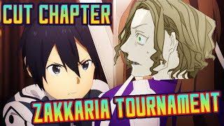 Sword Art Online Alicization EXPLAINED - Cut Chapter, Zakkaria Tournament!