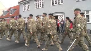 ISAF HOLD 16 MARCHERER GENNEM SLAGELSE