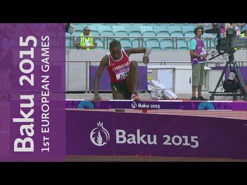 Chaltu Beji wins the Steeplechase despite late fall   Athletics   Baku 2015 European Games