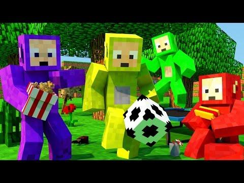 Minecraft Mods - MORPH HIDE AND SEEK - TELETUBBIES MOD!