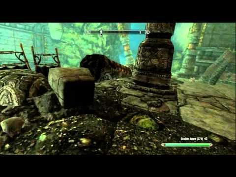 Skyrim Dawnguard New Amazing Weapon (Zephyr)