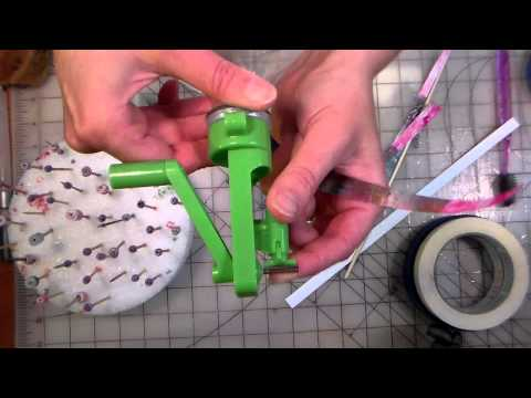 green creativity paper bead roller review