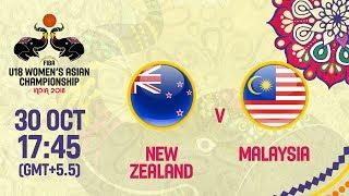 Новая Зеландия до 18 (Ж) : Малайзия до 18 (Ж)