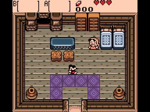 The Legend of Zelda - Oracle of Ages - Zelda - Oracle of Ages (GBC) - wooden sword - User video