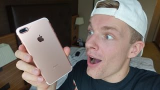 IPHONE 7 UNBOXING!