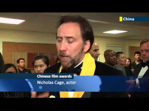 Hollywood A-listers go to China: Nicolas Cage and Quentin Tarantino win big in Macau
