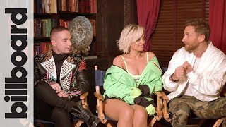 David Guetta Bebe Rexha J Balvin Go Behind The Scenes Of Their 39 Say My Name 39 Audio Billboard