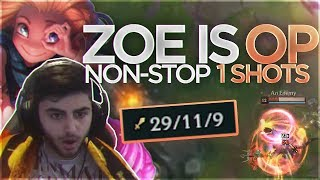 Yassuo | ZOE IS OP! NON-STOP 1 SHOTS!