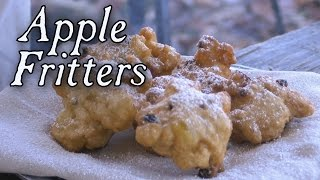 Apple Fritters 18th century cooking with Jas Townsend and son S5E8