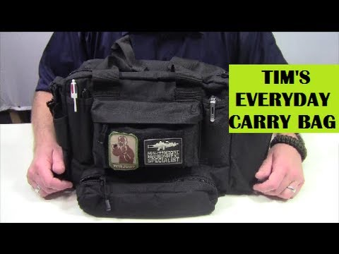 Tim's EDC / Everyday Carry Bag - What's In It