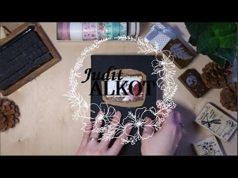 Utazós naplóm végiglapozása | Adventurebook flipthrough | ASMR No talking, Relaxing