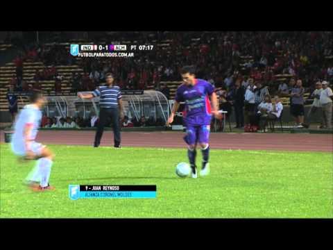 Gol de Reynoso. Independiente 0 - Alianza 1. 32 vos de Final. Copa Argentina 2015. FPT.